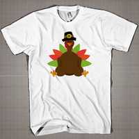 Funny Thanks Giving  Mens and Women T-Shirt Available Color Black And White