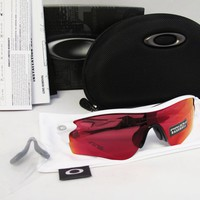 OAKLEY Radarlock Path Asia Fit Polished Wht./Prizm Baseball Sunglasses OO9206-26