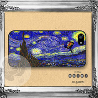Doctor Who SVan Gogh Starry iPhone 5s case, iPhone 5C Case iPhone 5 case, iPhone 4 Case vogue iPhone case Phone case ifg-000153