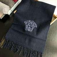 Perfect Versace Women Wool Scarf Shawl Scarf