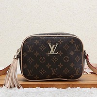 Louis Vuitton LV Women Fashion Leather Satchel Crossbody Shoulder Bag