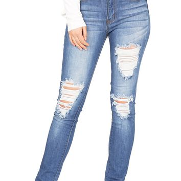 Industrial High Rise Jeans