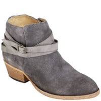 H BY HUDSON WOMEN'S HORRIGAN SUEDE ANKLE BOOTS - SLATE