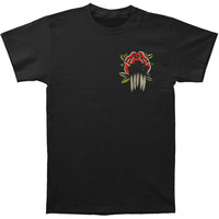 Gideon Men's  Tattoo Flash T-shirt Black