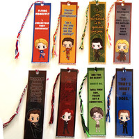 Avengers Chibi Bookmarks