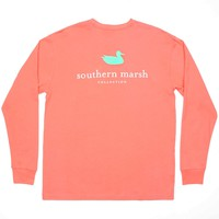 Southern Marsh Adults Authentic Long Sleeve Tee