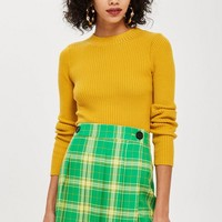 Check Kilt Mini Skirt | Topshop