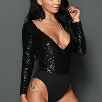 Sequined Bodysuit