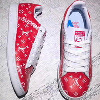 Adidas SMS  LV supreme Classic men and women casual shoes