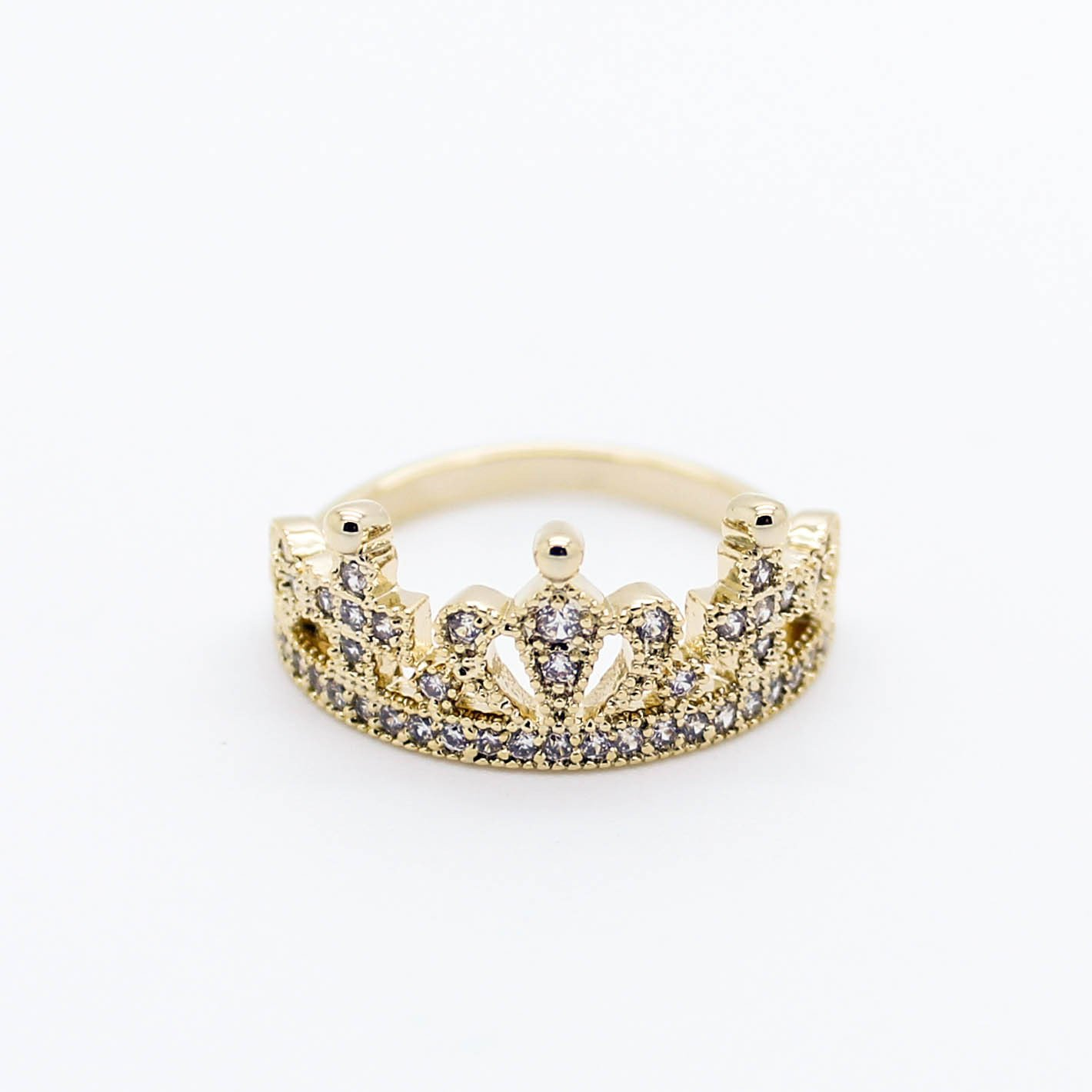 Image of Crown ring (2 colors)