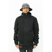Globe Jacket in Black