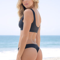 Stone Fox Swim - Tucker Bottom | Onyx