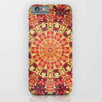 MAYAN TEXTURE 1 - for iphone iPhone & iPod Case by Simone Morana Cyla