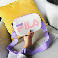 FILA Fashion New Letter Print Leather Women Shoulder Bag Crossbody Bag