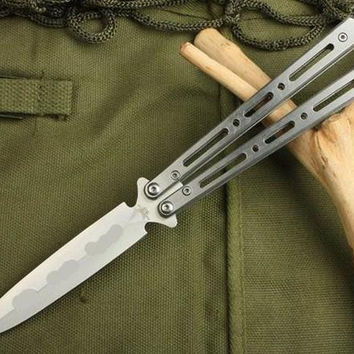 Promotion Butterfly C28S Balisong 57HRC tactical Single Edge Outdoor Tactical folding knife gift knife knives new in original box