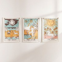 Tarot Flag Tapestry | Urban Outfitters