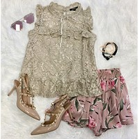 Cosmic Love Lace Top