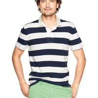 Gap Rugby Jersey Polo Size S - Navy stripe