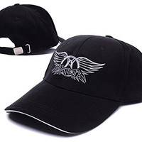 Aerosmith Band Logo Adjustable Baseball Caps Unisex Snapback Embroidery Hats