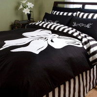 Bow Duvet Cover - Duvet Covers - Sin In Linen