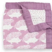 Milkbarn Mini Lovey Baby Blanket - Hedgehog