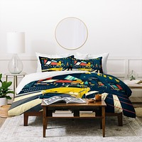 Anderson Design Group NYC Times Square Duvet Cover