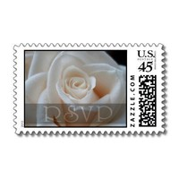 RSVP Rose Stamps from Zazzle.com