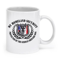 GERMAN SHEPARD HOMELAND SECURITY MUG germanshepard1