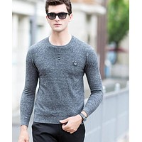Men Sweaters Clothing Fashion Pullover Men Comfortable Casual Male Sweaters