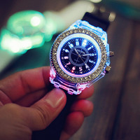 Light Up Watch Simple Style Watches Gift - 502