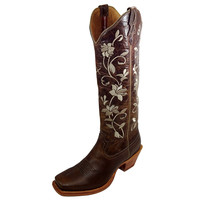 Women's Twisted X Steppin' Out Tall Oiled Bomber Cowgirl Boots