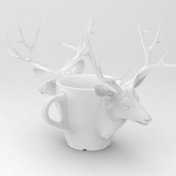 one cup a day | Day 25: Deer Cup by cunicode on Shapeways