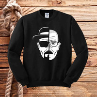 breaking bad two face sweater unisex adults