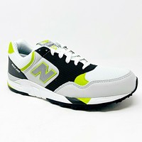 New Balance 850 White Black Lime Lightweight Perofrmance M850WKG Mens 9.5