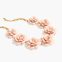 J.Crew Womens Beaded Rose Necklace