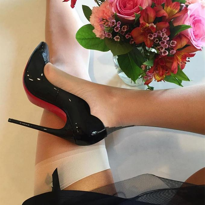 Image of ( S C ) Christian Louboutin 2021 New pointed high heels