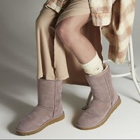 UGG Classic Boots Wool Fur Boots High Boots