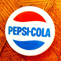 Lovely retro Pepsi-Cola  brooche/ badge / button / pins from USSR