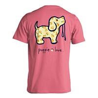 Georgia Peach Pup Tee in Azalea by Puppie Love