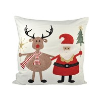 Santa and Friends 20x20 Pillow