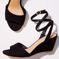 Ankle Strap Wedge Sandals | LOFT