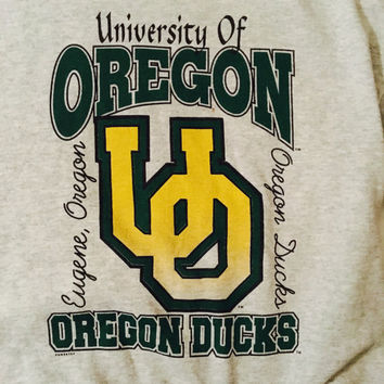 "Vintage University of Oregon ""Oregon Ducks"" Crewneck"