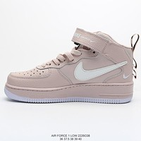 Nike Air Force 1 '07 Low Pink Personality High-Top Sneakers Shoes