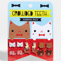 Happy Animal Earring Pack