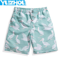 Yuzhou Boardshrots men quick drying board shorts sports Fitness surf beach camo swimming trunks jogger running shorts swimwear