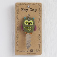 Olive  Owl  Key  Cap    From  Natural  Life
