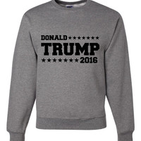 Donald Trump 2016, Support your Party, Trump For President,Election Republican Campaign Support Sweatshirt Shirt Ladies & Mens (Unisex) Size
