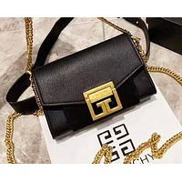 Givenchy new women's casual wild small square bag shoulder chain bag 3#