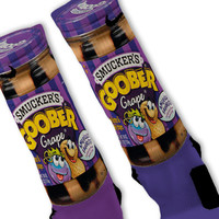 Peanut Butter Jelly Goober Custom Nike Elite Socks