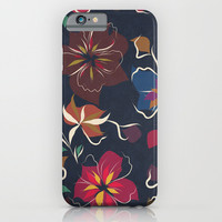 flowers blooming iPhone & iPod Case by SpinL